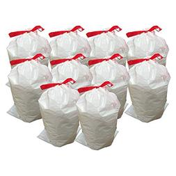 Think Crucial 100PK Durable Garbage Bags Fit simplehuman '
