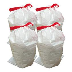 Think Crucial 40PK Durable Garbage Bags Fit simplehuman 'S