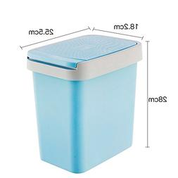 Dustbin Nordic Simple Fashion Thick Plastic Trash can,Press