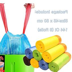 e-Clean Thicken Garbage Bag Automatic Closing Rope Bag Odor