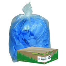 Earthsense Commercial RNW4015C Clear Recycled Can Liners, 31
