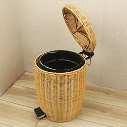 Environmental protection Trash can For Office,Foot pedal Gar