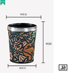 YQ WHJB European lidless trash can wastebasket garbage can h