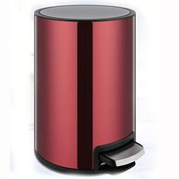 Jueven European Stainless Steel Trash Can Household Pedal Cr