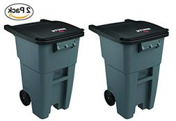 Rubbermaid Commercial Products FG9W2700GRAY Brute Rollout He