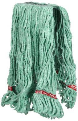 Rubbermaid Commercial Web Foot Wet Mop, Medium, Green, FGA11