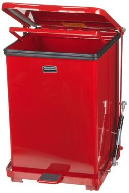 Rubbermaid Commercial FGQST7ERBRD The Silent Defenders Steel