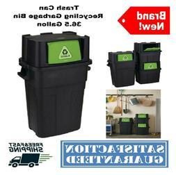 Rubbermaid 30-Gallon Flip-Door Stackable Recycle Bin