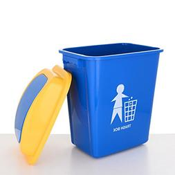 Haodan electronics Flip The Trash Can, Outdoor Plastic Trash