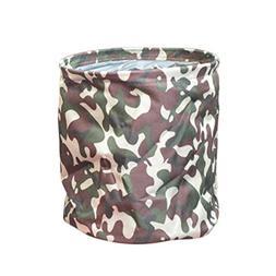 Demarkt Foldable Storage Bucket Oxford Cloth Storage Trash C