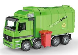 PowerTRC Friction Powered Garbage Truck | Includes Garbage C