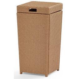 Crosley Furniture Palm Harbor Outdoor Trash Bin