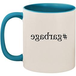 #garbage - 11oz Ceramic Colored Inside and Handle Coffee Mug