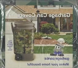 Garbage Pantz Garbage Can Cover - Green Camouflage