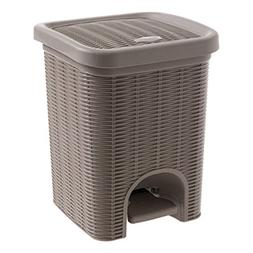 Step trash can Rectangle waste bins,Trash can with lid Ratta