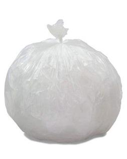 """Garbage Can Liners 20"""" x 21"""". Pack of 1000 Low Density Clear"""