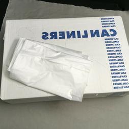 Garbage Can Liners 56 Gallon Trash Bags, 43x48, 14mic, 200 B