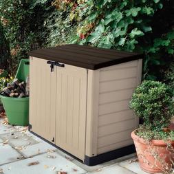 Garbage Can Shed Store-It-Out Max 4.8 x 2.7 Plastic Horizont