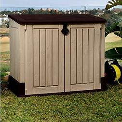 Garbage Can Shed for Outdoor Use, Contemporary Rustic MIDI P
