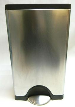 Garbage Can Simple Human Rectangular Step On Trash Can 38 L