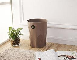 Garbage can thicken no lid large trash can,European creative
