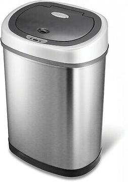 Garbage Trash Can Integrated Motion Sensor Hands-Free Stainl