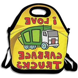 Staroind Garbage Truck Insulated Lunch Bag With Zipper,Carry