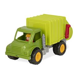 Battat - Garbage Truck with 2 Garbage Bins and 1 Driver - To
