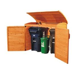 Garbage Wooden Garden Shed Patio Storage Shed Outdoor Yard D