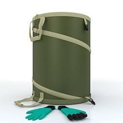 Garden Bag - Large Heavy Duty Canvas Reusable Yard Bags Grea