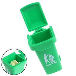 Green Color ABS 1:12 Dollhouse Miniature <font><b>Trash</b><