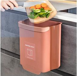 Hanging Cabinet Trash Can Collapsible Kitchen Garbage Can fo