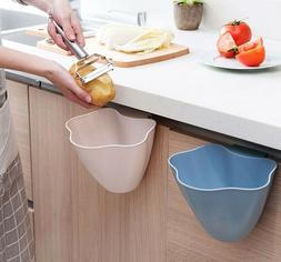 Hanging Trash Bin Kitchen Garbage Can Fruit Veggies Storage