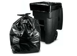Trash Bags 95-96 Gallon, Large Heavy Duty Garbage Bags, 2 Mi