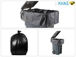 PlasticMill 64 Gallon, Black, 1.5 Mil, 50x60, 50 Bags/Case,