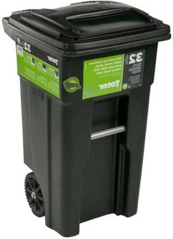 Heavy Duty Wheeled Garbage Trash Cans Container Tilt Attache