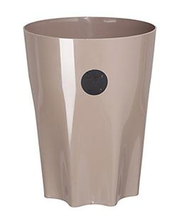 HappyLHL Hflove Round Solid Color Household Trash Can Home C