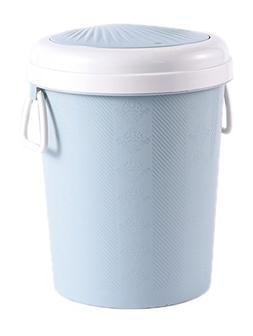 HappyLHL Hflove Spring Cover Trash Can Dual-Use Trash Can Dr
