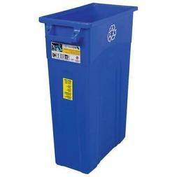 United Solutions Highboy Waste Container, Blue