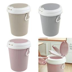 Household garbage can press elastic cover living room garbag