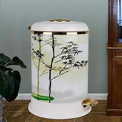 FeN Household 9L Trash Can,Antirust Pedal Waste Bin,With