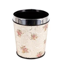 Nanle Household Waste Bin, 12L Office Round PP Waste Bin Was