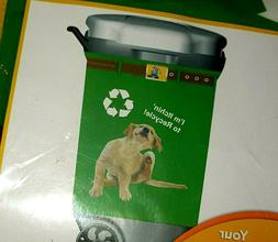 GARBAGE PANTZ ~ I'M ITCHING TO RECYCLE  TRASH CAN COVER ~ DO