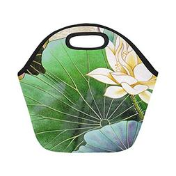 Insulated Neoprene Lunch Bag Viet Nam Table Typical Decorati