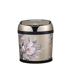 ZWW electronic Intelligent Induction Plastic Trash Can, Home