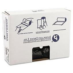 Inteplast Group High-Density Can Liner, 24 x 33, 16-Gallon,