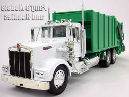 Kenworth W900 Garbage Truck Diecast Metal 1/32 Scale Model b