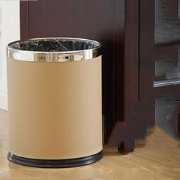 DDSS Kitchen bathroom stainless steel trash can, creative ba