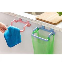 Kitchen Garbage Bags Holder Stand Trash Can Organizer Waste