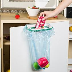 Kitchen Hanging Clip on Trash Bag Holders Travel Garbage Can